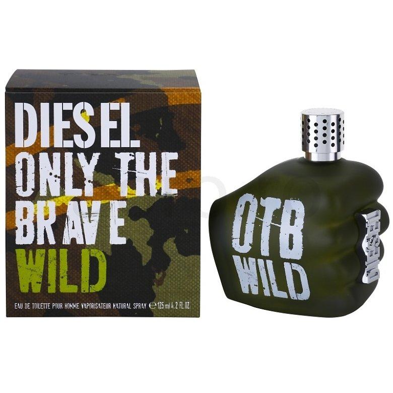 Apa De Toaleta Only The Brave Wild 125 Ml Pentru Barbati Diesel